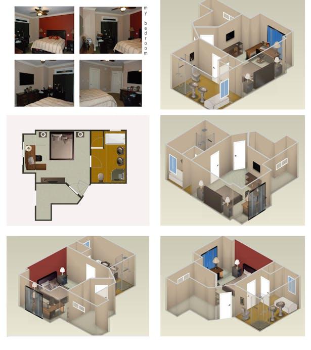 Bedroom's design