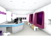 Frozen Yogurt Store
