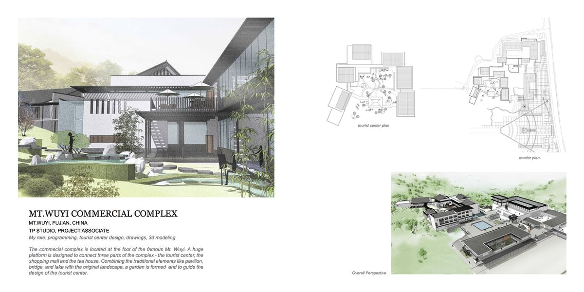MT WUYI COMMERCIAL COMPLEX | Xiao Gu | Archinect