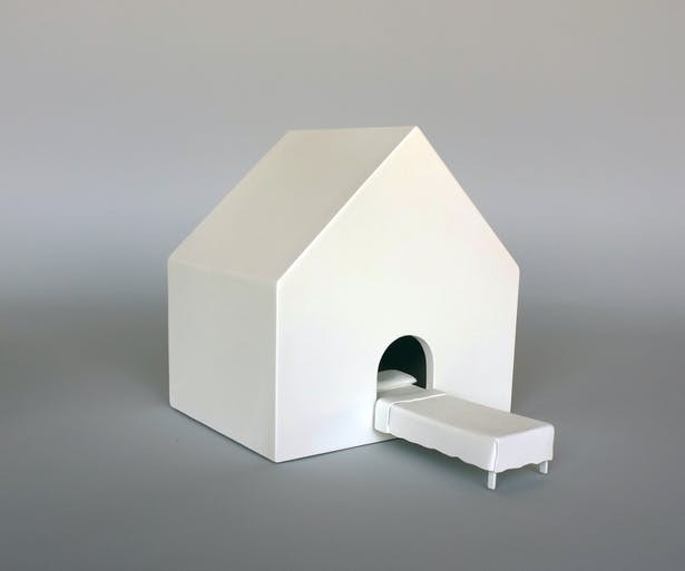 Dream House, 11 inches L 8 inches W 8 inches H.
