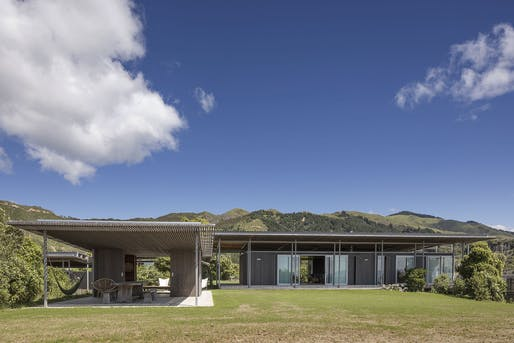 Housing, Alterations & Additions - Bach with Two Roofs, Golden Bay by Irving Smith Architects.