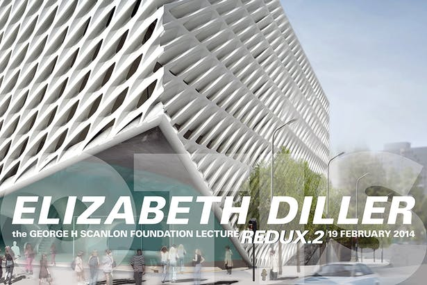 The Broad, Los Angeles, architecture by and rendering courtesy of Diller Scofidio + Renfro