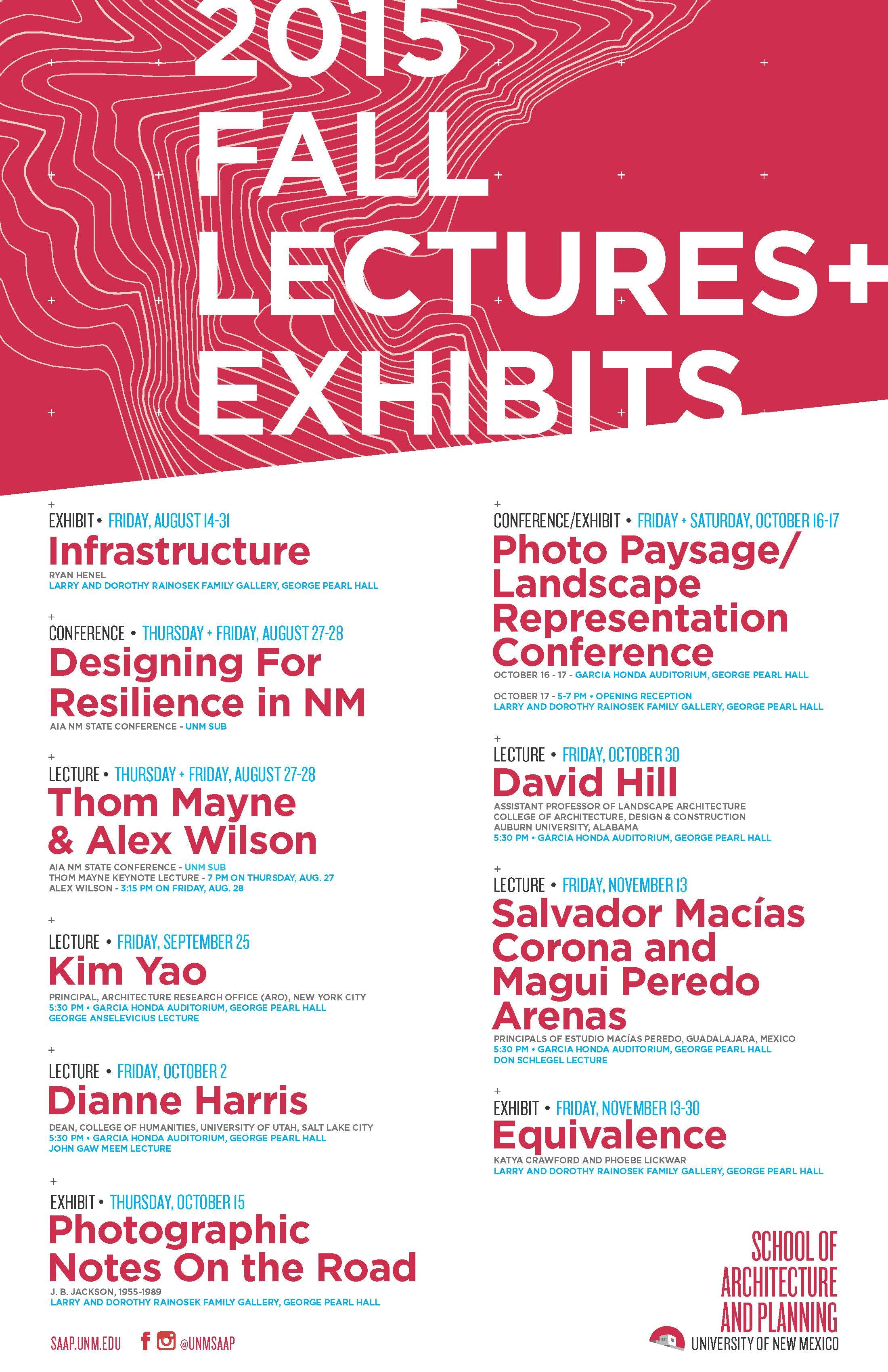 Get Lectured: University of New Mexico, Fall '15 | News