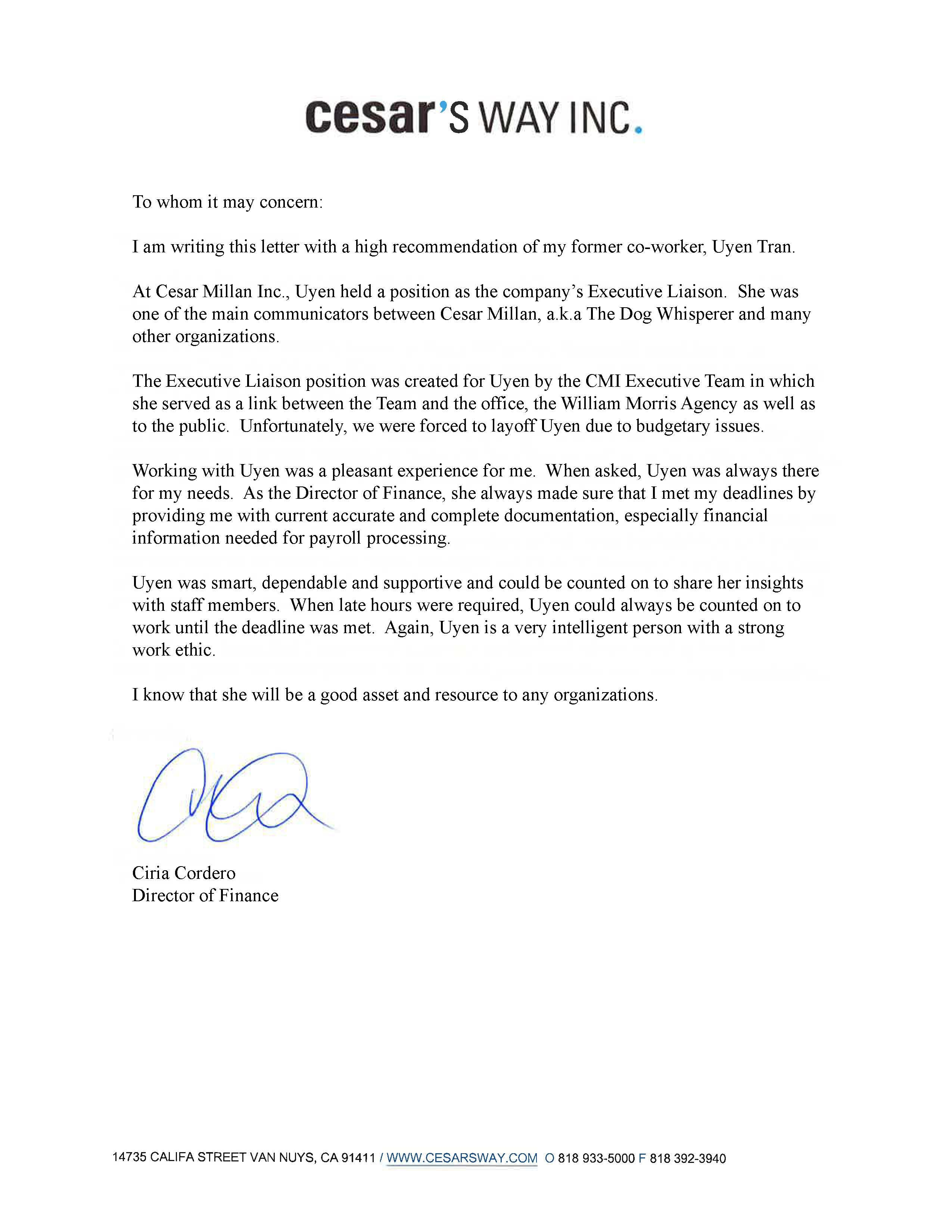 Recommendation letter 1 uyen c tran archinect recommendation letter 1 read more status built location los angeles ca us aljukfo Image collections