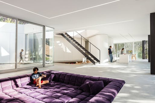 Pam & Paul's House in Cupertino, CA by Craig Steely Architecture; Photo: Darren Bradley