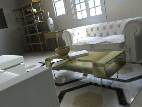 Interior room.