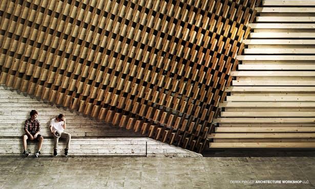 DPAW Guggenheim Helsinki - Exterior Facade Detail