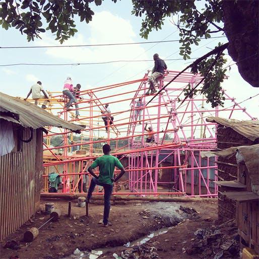 Kibera Hamlets School by SelgasCano, Helloeverything, and studio.14, photo credit: helloeverything