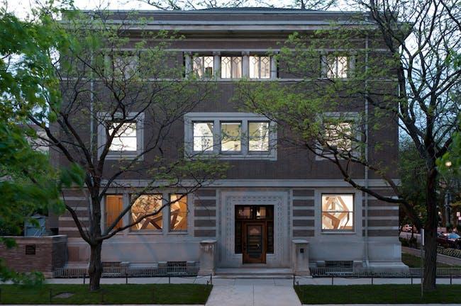 The Madlener House, which houses the Graham Foundation. Image via grahamfoundation.org