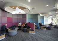 Deakin University Burwood Student Plaza