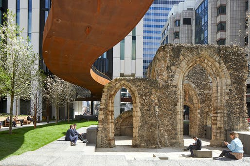 London Wall Place, by Make Architects. Photo: Martina Ferrera.