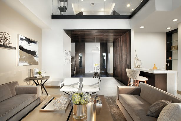 Living Room Residential Interior Design Project In Fort Lauderdale Florida By Dkor Interiors