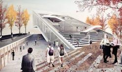 Daegu Gosan Public Library Entry by Sunggi Park
