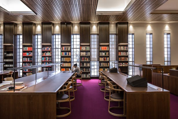 Weston Library - View of a newly created reading room