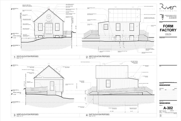 Purposed Elevations