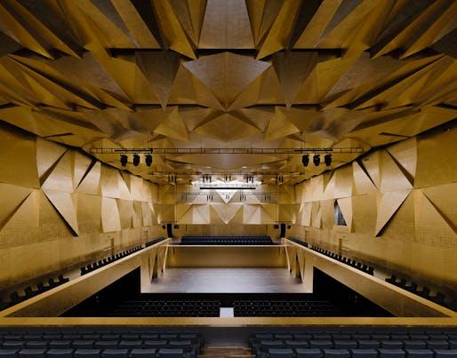 2015 Mies van der Rohe Award finalist - Philharmonic Hall Szczecin in Szczecin, Poland by Barozzi / Veiga. Photo: Simon Menges.