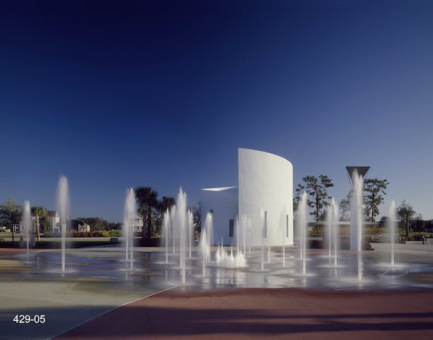 Interactive Fountain at Park Square
