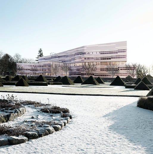 3XN's competition-winning design for Uppsala University (Image: 3XN)