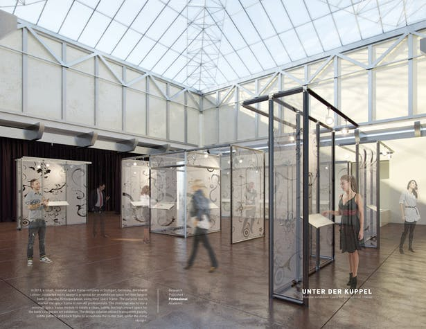 Unter der Kuppel / Modular Exhibition Space