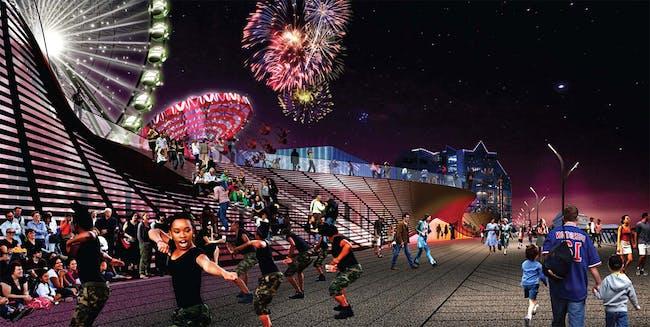 Pier Park, 'The Fun Room' (Image: James Corner Field Operations)