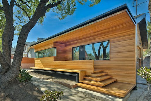 DESIGN AWARD - HONOR: Martin Fenlon Architecture, Fenlon House, Los Angeles, CA. Photo: Zach Lipp.