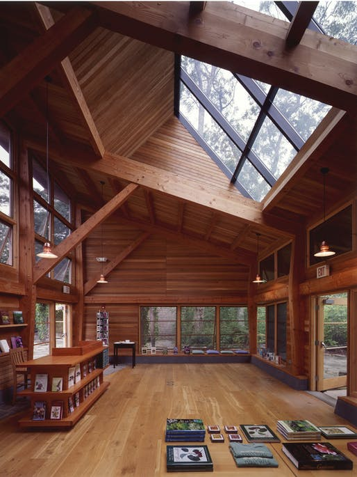 Polly Hill Arboretum, Visitors Center by Charles Rose Architects