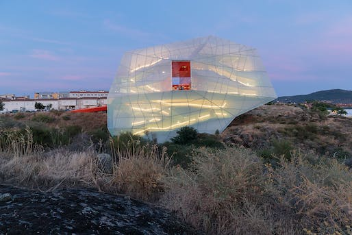 Finalist: Plasencia Auditorium and Congress Center in Plasencia, Spain, designed by SelgasCano. Photo by Iwan Baan.