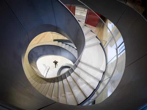 Wellcome Collection - Dynamic staircase