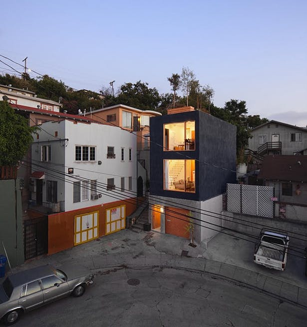 View from the neighbor's apartment