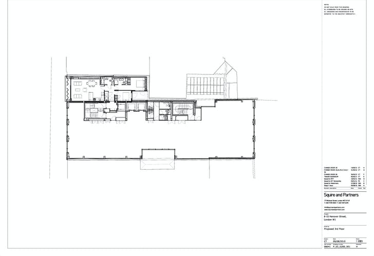 3rd Floor Plan. Image courtesy of Squire and Partners.