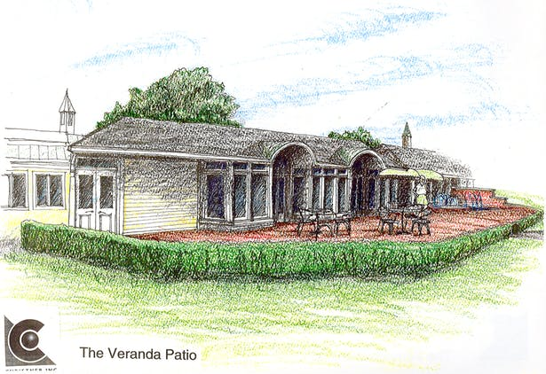 Veranda rendering