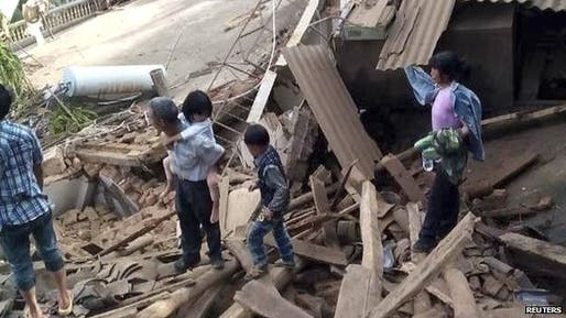 An earthquake in China has claimed at least 381 people. Credit: Reuters