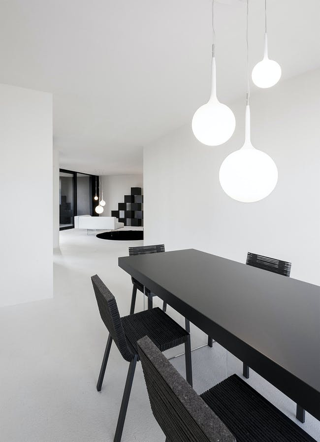 LAGO_apartment in Milan, Italy by cristianavannini   arc; Photo: Saverio Lombardi Vallauri