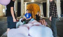 The PLAY LOUNGE - UK/CoD students transform Lexington's 2013 Beaux Arts Ball