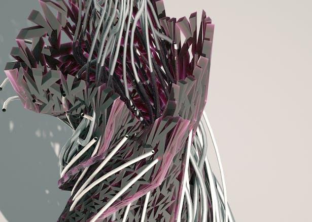 3D modeled / rendered