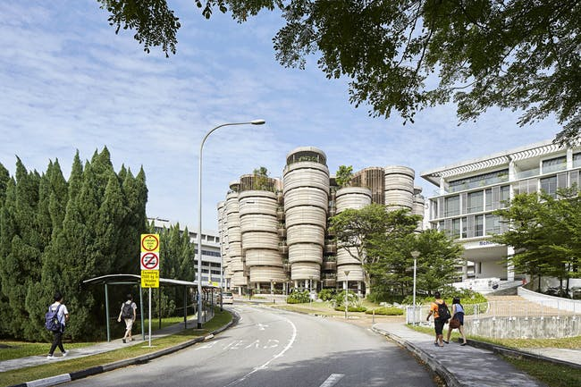 Learning Hub at the Nanyang Technological University in Singapore. Photo: Hufton and Crow.