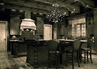Traditional Kitchen Rendering and Design