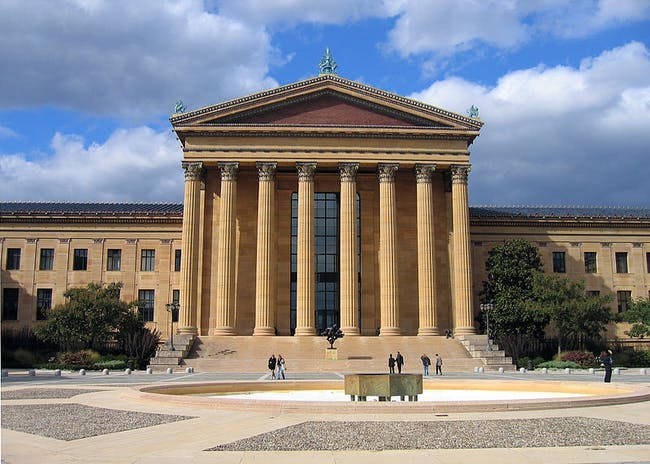 Philadelphia Museum of Art. Photo via Wikipedia.