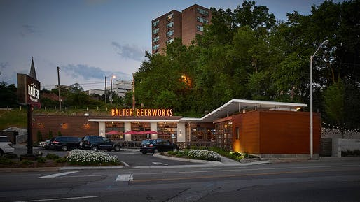 MERIT AWARD: Balter Beerworks. Designed by Sanders pace Architecture & Trapp Associates Ltd. Photography by Bruce McCamish