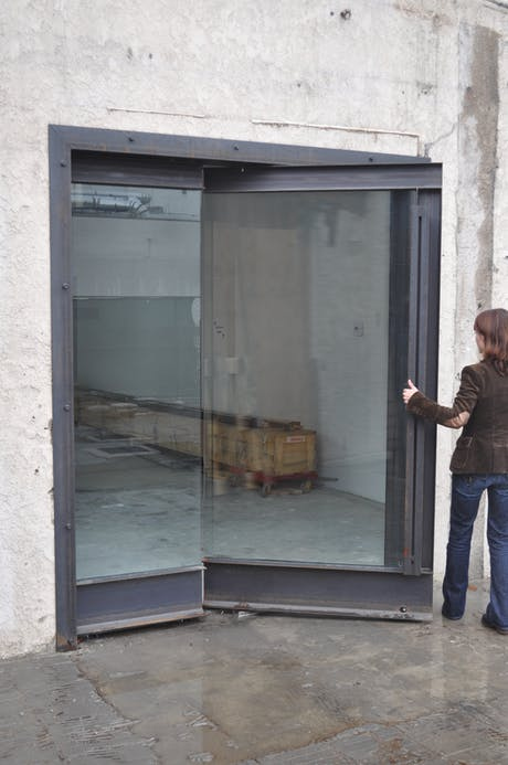 Awesome Pivot Door - Designed by TWInc - Fabricated by Breaform Design