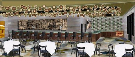 Tapas Bar concept, Vegas