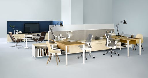 Open Plan Office Furniture by Herman Miller, one of the most awarded brands in the Spec*Stars awards
