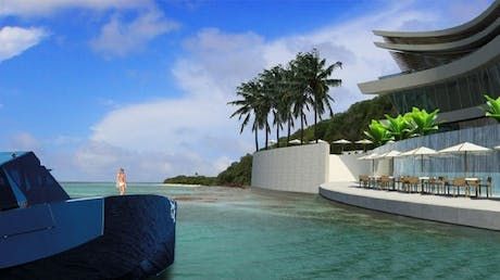 Site locations for Sirru Resort + Spa