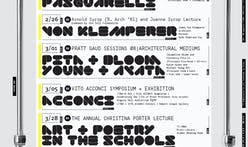Get Lectured: Pratt Institute, Spring '18