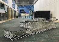 Display Stand for Dwell On Design Exhibition 2018 - Los Angeles Convention Center