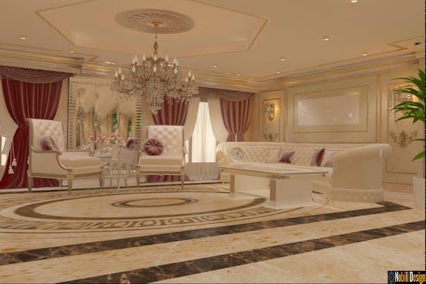 Proiecte design interior clasic de lux
