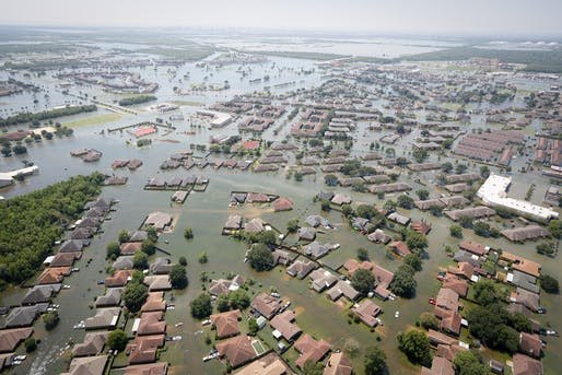 Flooding in Port Arthur, Texas. Image: Daniel J. Martinez/U.S. Air National Guard.
