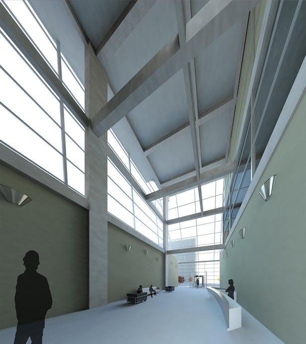 Interior Lobby Perspective