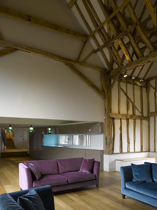 Chantry Farm Barn Living Space