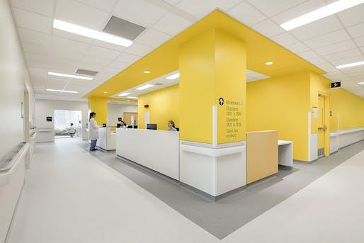 Nurse station. Photo credit: Adrien Williams.